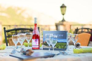 Cuisine méditerranéenne sur notre terrasse panoramique