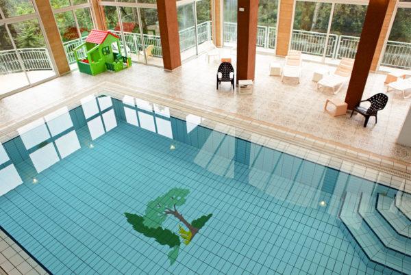 Profitez, à Anduze, en Cévennes, dans un cadre très agréable, de notre piscine couverte et chauffée