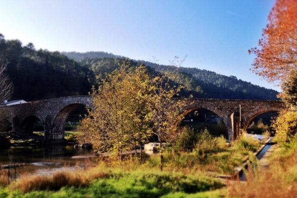 A Saint-Jean du Gard, le Pont Vieux, construit en 1733