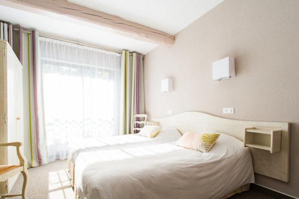 Dans l'une des chambres de notre hôtel cévenol d'Anduze