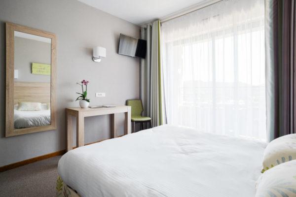 Dans l'une de nos chambres de notre hôtel restaurant d'Anduze, en Cévennes