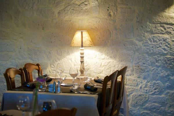 Ambiance intérieure, dans notre salle de restaurant d'Anduze, en Cévennes