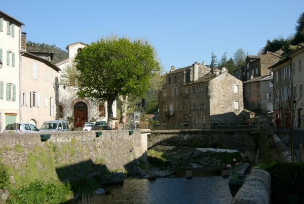 Le village cévenol de Saint-André de Valborgne