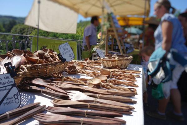 Marché cévenol, à Saint-Jean du Gard