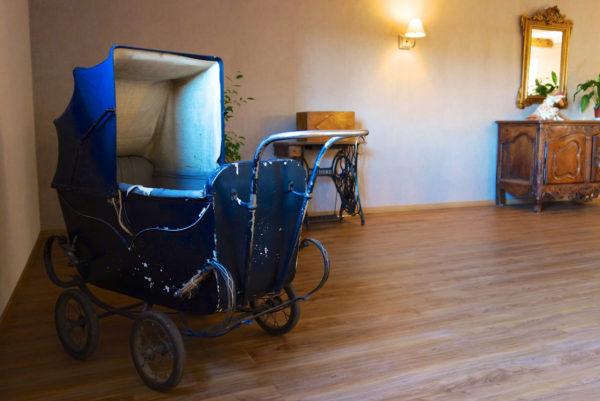 Dans la mezzanine de votre hôtel restaurant cévenol d'Anduze